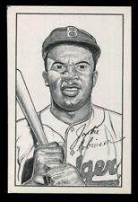 1973 TCMA Postcard *** JACKIE ROBINSON  ***  Brooklyn Dodgers