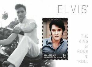 Mayreau 2011 - Elvis Presley - Souvenir Sheet - MNH