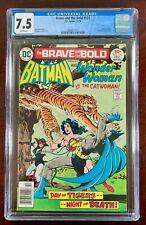 BRAVE AND THE BOLD #131 CGC 9.0 NM (DC 1976) BATMAN & WONDER WOMAN 🔑