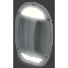 White Caravan Door Handle With LED Lights Rv Illuminated door handle 12 volt