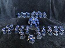 warhammer 40k space Marines Army Ultramrines Fully Painted