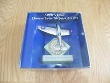"""Dinky No: 700 """"Spitfire Mk ll"""" silver plated (Diamond Jubilee of The RAF) 1978"""