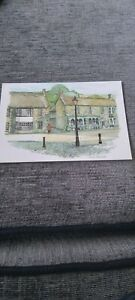 Postcard George Inn And Fore Street Castle Cary Somerset P4