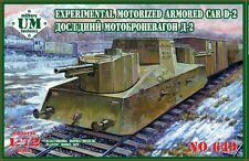 Experimental Motorized Armored Car D-2 << UMmt #649, 1:72 scale