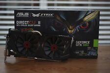ASUS NVIDIA GeForce GTX 980 (4096 Mo) (STRIX-GTX980-DC2OC-4 GD5) carte graphique