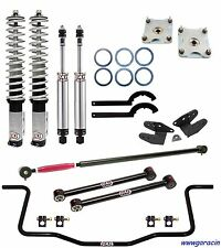 QA1 Drag Racing Level 2 Suspension Kit - Fits 2011-2014 V8 Ford Mustang,GT -