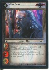 Lord Of The Rings CCG Foil Card TTT 4.R20 Hill Chief