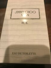 JIMMY CHOO MAN  ICE COLOGNE EDT 3.3 3.4 oz 100 ml SPRAY NEW IN BOX