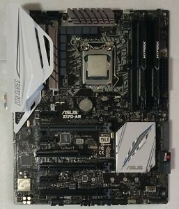 intel core i7-6700k with Asus Z170-AR and 16GB Ram