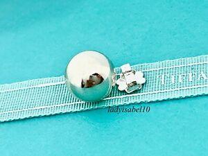 Tiffany & Co. Single 10mm Bead Ball Earring Hardwear  Sterling Silver  21826H