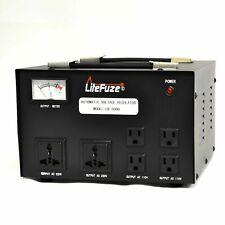 LiteFuze LR-5000 5000Watt Voltage Regulator Transformer-Step Up/Down (110V/220V)