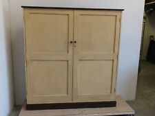 Antique painted pine hall cupboard/storage cabinet, for CD/DVD or shoes  (66)