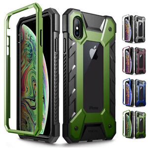 Heavy Duty Case For iPhone Xs Max,Poetic Journeyman Series 360 Degree Protector