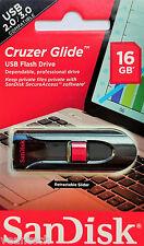 Sandisk Cruzer Glide 16GB USB Flash Drive 16GB USB Stick SDCZ60-016G-B35 NEU&OVP