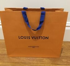 ^Authentic New Louis Vuitton paper shopping bag ~ FASHION BLOGGER