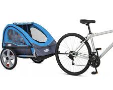 InStep Take 2 Bicycle Baby/Kids Pet Bike Trailer - Light Blue/Grey
