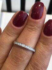 PLATINUM HALF ETERNITY RING 0.20CT GSI DIAMOND QUALITY LADY RING GOY715