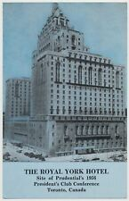 Royal York Hotel - Toronto - Prudential's President's Club Conference 1956
