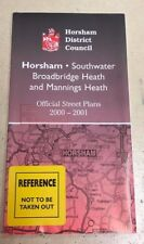 Horsham, Southwater District Council Official Street Plans 2000-2001