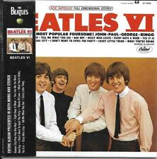 CD 11T THE BEATLES BEATLES VI WITH OBI 2014  NEUF SCELLE