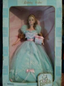 BIRTHDAY WISHES BARBIE DOLL 1999 COLLECTOR EDITION SECOND IN A SERIES NIB