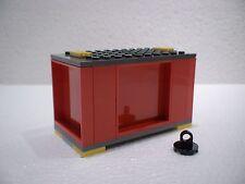 LEGO® Eisenbahn Container rot für 4512, 7898, 7939, 60052, 60198  A