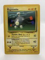 1999 Magnemite Base Set Pokémon Card Near Mint Rare 53/102