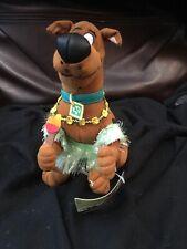 SCOOBY-DOO STUFFED Hawaii  Scooby BLOCKBUSTER EXCLUSIVE HALLOWEEN COSTUME  8 In