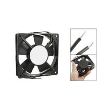 278g Black Metal Industrial 120 x 120 x 25mm 0.1A AC 220-240V Cooling Fan BTSZUK