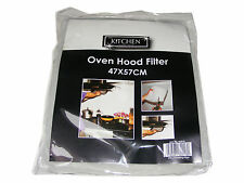 KITCHEN OVEN HOOD FILTER - 47CM X 57CM - CUT TO FIT - NEW