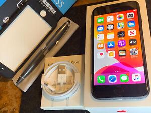 Apple iPhone 7 (32gb) GSM Globally Unlocked (A1778) Black: MiNT ExTRA {iOS13}72%