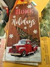 HOME FOR THE HOLIDAYS -Christmas Sign NEW