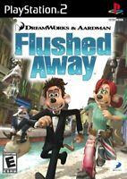 Flushed Away - 2006 Adventure - (Everyone) - Sony PlayStation 2 PS2