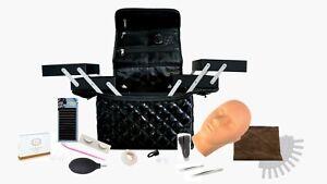 EXTENSION CIGLIA per PRINCIPIANTI, kit starter con manichino