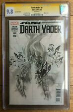 Darth Vader #1 Alex Ross Sketch Variant CGC SS 9.8 Signed Stan Lee