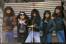 Anthrax / Scott Ian / Joey Belladonna / 1980'S Magazine Centerfold Pinup + Dvd