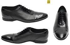 Lackleder Herren Schuhe Muga Gr.41 Schwarz