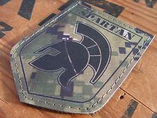"Snake Patch "" BLASON SPARTAN "" Spartiate COS COMMANDO MARPAT DIGITAL USMC AOR 2"