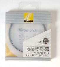 Filtro de color neutro Nikon NC Neutral Color filter protection UV 67mm