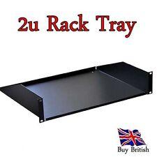 19 inch 2u Rack Tray