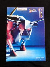 Sad Cafe Official Tour Programme 1981 - Paul Young Manchester Rock BAnd