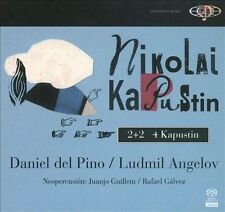 Nikolai Kapustin: 2+2 4 Kapustin Super Audio Hybrid CD NEW SEALED