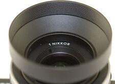 40.5mm Metal Lens Hood F Nikon 1 V1 10mm 10-30mm 30-110mm Sony 16-50mm A6500 A7r