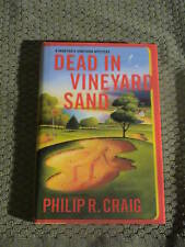 Philip R. Craig Dead In Vineyard Sand 1st Signed F/F