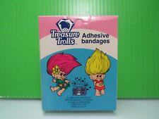 "1992 Treasure Troll Adhesive Bandages - 3/4"" x 3"" Treasure Troll Bandages- New"