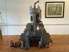 VINTAGE PLAYMOBIL 3665 BARONS BATTLE TOWER WITH INSTRUCTIONS