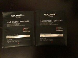 2 Goldwell BondPro+ System Hair Color Remover - 1.05 oz