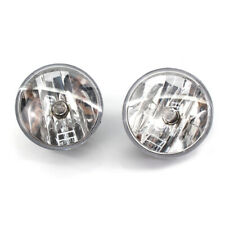 Pair Fog Lights For 2007-2014 Chevy Tahoe Avalanche Suburban GMC with Bulb Clear