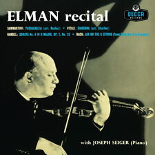 Mischa Elman - Recital (180g) LP Vinyl Album New