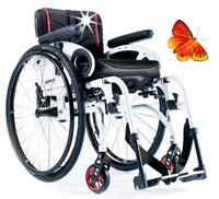 SOPUR Xenon² SA Adaptivrollstuhl  Aktivrollstuhl Faltrollstuhl Rollstuhl